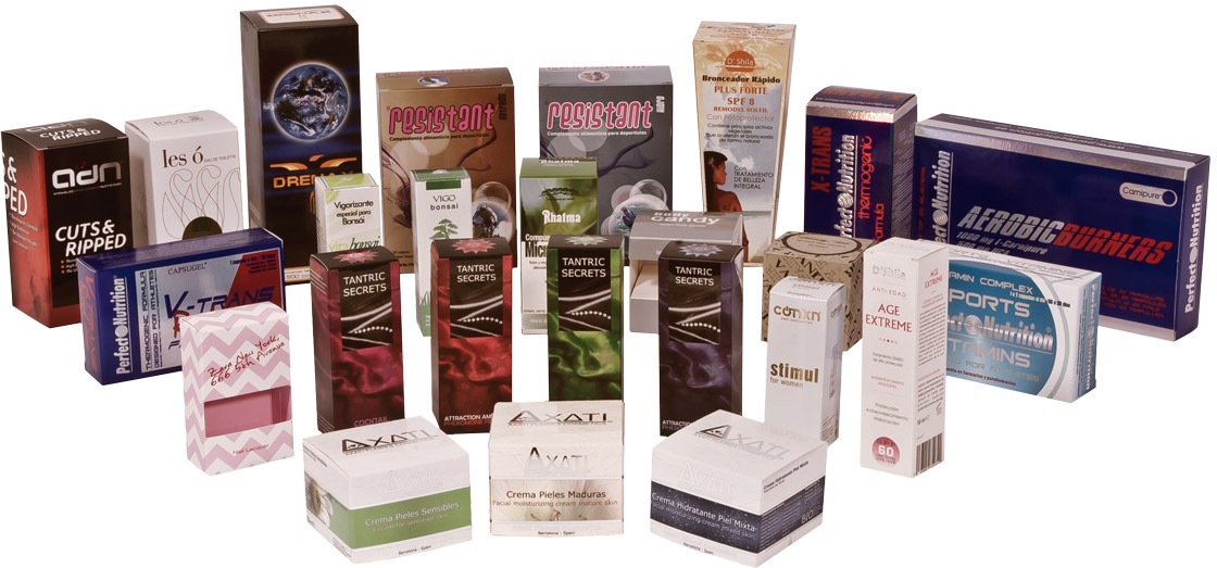 Packaging for cosmetics