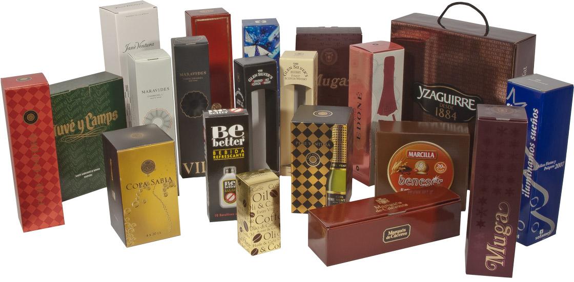 Emballages pour boissons